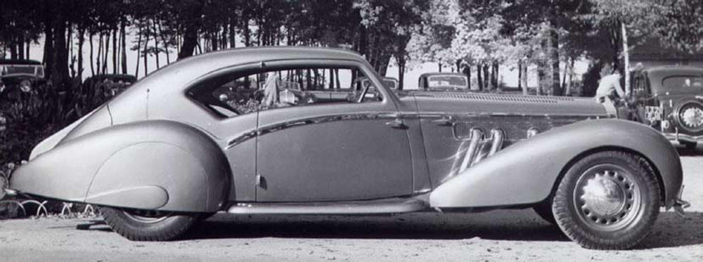 1938 Millicent Rogers' Delage D8-120 Aerosport Coupe