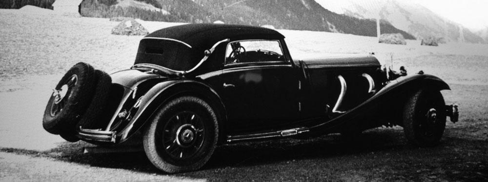 1936 Millicent Rogers' Merecedes-Benz 500K