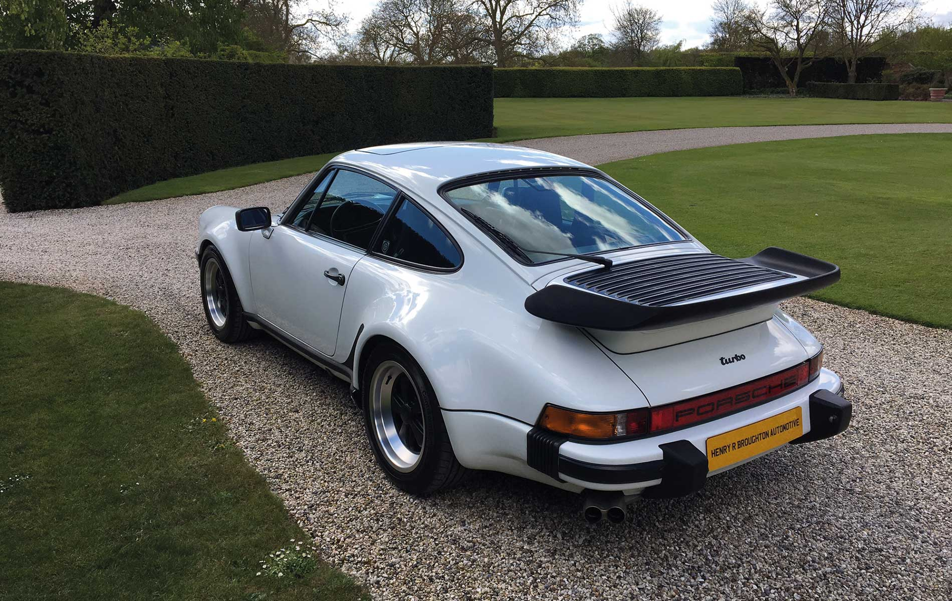 1986 Porsche 911 Turbo Henry R Broughton Automotive