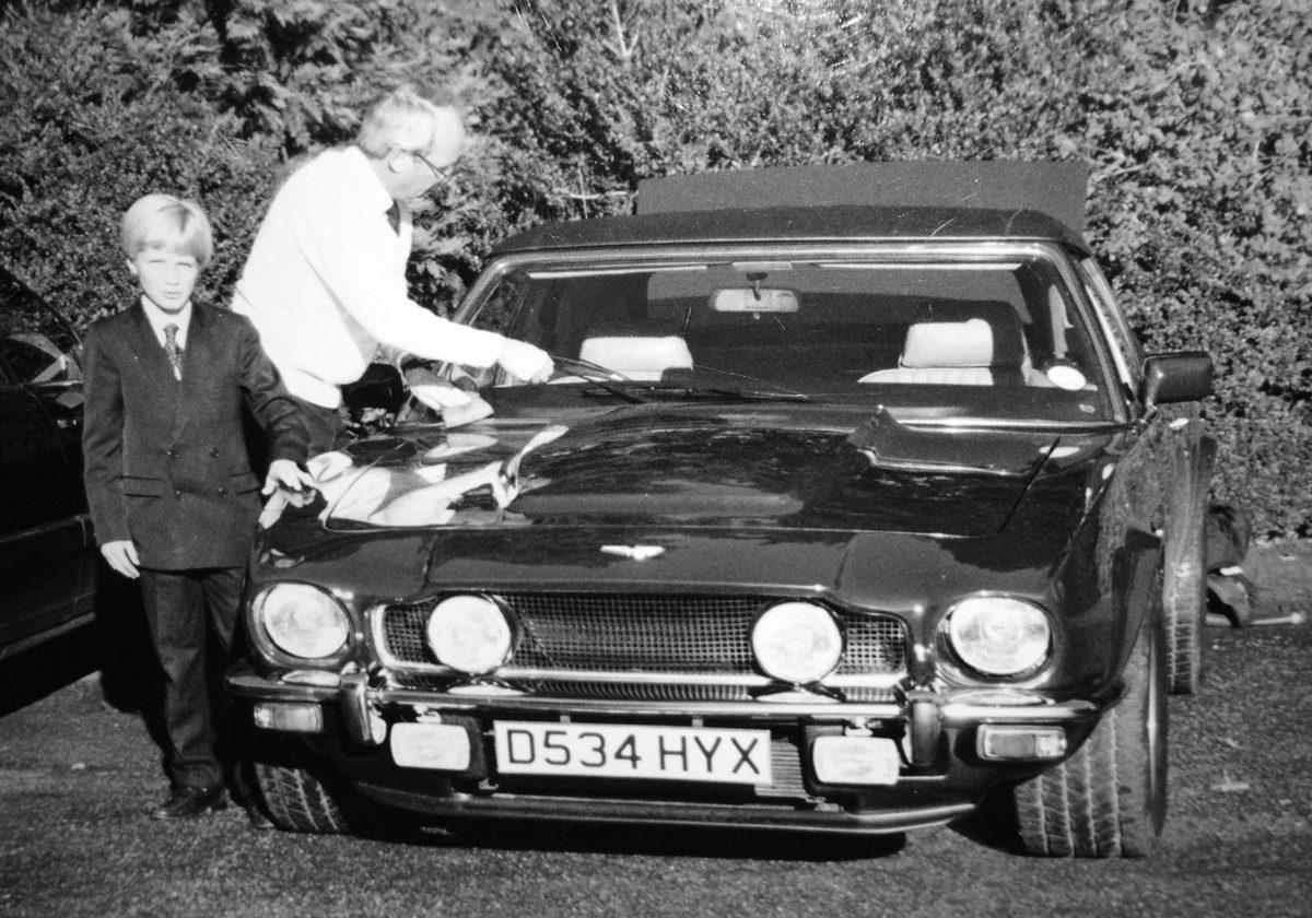 1988 Henry R Broughton with Aston Martin Vantage Volante 'PoW'