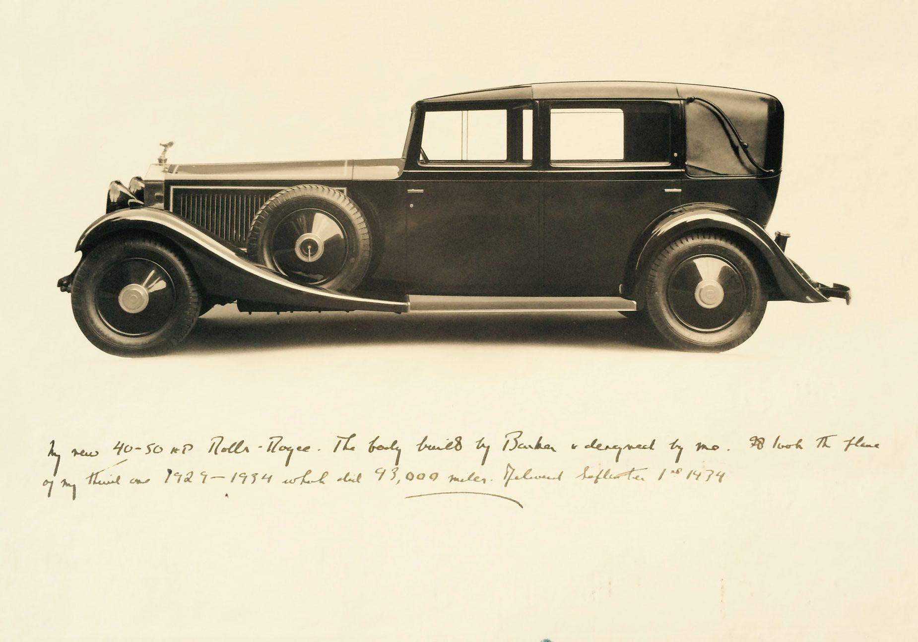 1934  Lord Fairhaven's Rolls-Royce Phantom II by Barker